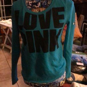 PINK Victoria's Secret XS/TP light weight top